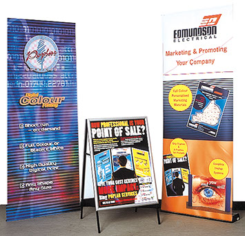 Roll Ups, Displays